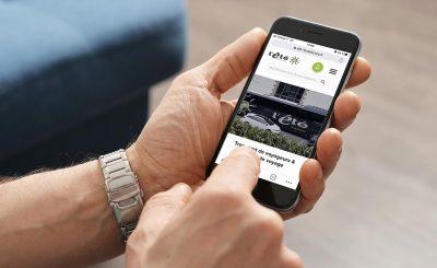 Site internet responsive, trouver vos horaires, vos lignes et toutes les informations sur votre mobile