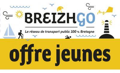 breizhgo offre billet gratuit jeune Bretagne finistère car